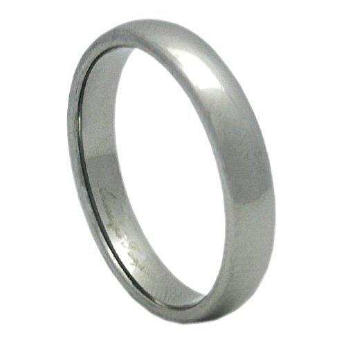 45e0524e60e3 新宿銀の蔵 4mm幅 プレーン甲丸 タングステンリング 7~21号 (13号) 指輪 メンズ レディース シンプル 丸みのある甲丸型にデザインされた 、非常にシンプルな細身の ...