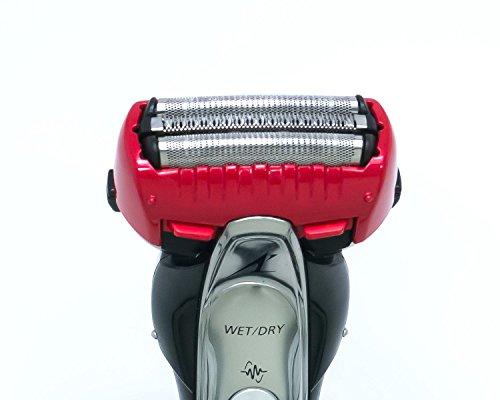 パナソニック ラムダッシュ メンズシェーバー 3枚刃 お風呂剃り可 赤 ES-ST39-R