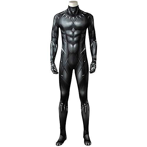 mrcos ブラックパンサー Black Panther コスプレ ティチャラ コスプレ Black Panther ブラックパンサー コスプレ 衣装 男性L