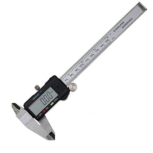 UCOMON デジタルノギス 150mm 鋼 電子ノギス 測定ツール 電池付