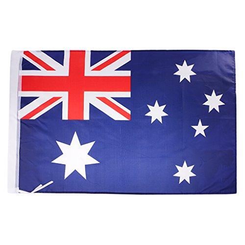 SONONIA 2x3ft 国家 フラッグ ポリエステル 60x90cm 家 窓 装飾 全8種類 - オーストラリア