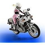S.H.フィギュアーツ ばくおん!! 鈴乃木凜 (ライダースーツ)&GSX 400S KATANA 約135mm ABS&PVC製 塗装済み可動フィギュア