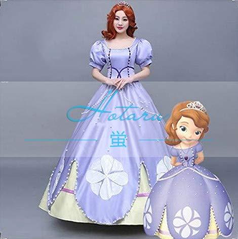 dd809c4823ea2 ソフィア姫 コスプレ 衣装セット ドレス コスチューム キャラクター ハ姫様 仮装 ハロウィン