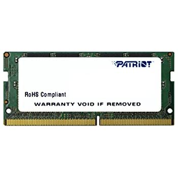 PATRIOT パトリオットメモリー ノートパソコン用メモリ DDR4 2133MHz (PC4-17000) 8GB SODIMM 1.2V PSD48G213381S