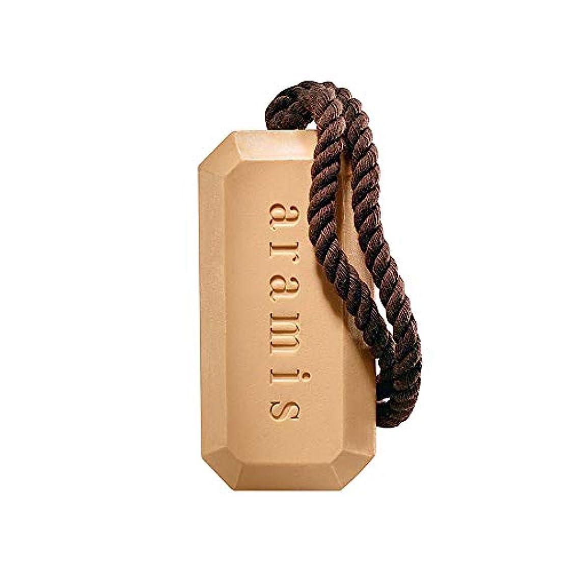 砦形成中断アラミス ロープ付き バスソープ (化粧石けん) 石鹸 アラミスの香り 163g
