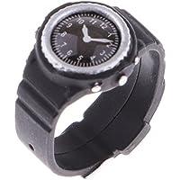 Fenteer アクションフィギュア アクセサリー 1/6スケール ブラック ウォッチ 腕時計 プラスチック製 - Aスタイル
