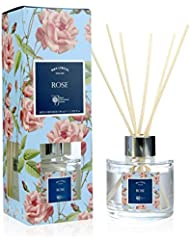 WAX LYRICAL RHS FRAGRANT GARDEN リードディフューザー 100ml ローズ CNRH5402