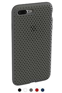 AndMesh Mesh Case for iPhone 8 Plus ケース / iPhone 7 Plus ケース, 耐衝撃メッシュケース | グレー | iPhone7 Plus ケース AMMSC711-GRY