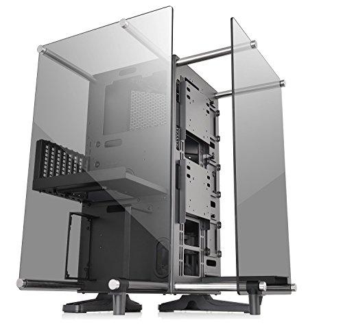 Thermaltake Core P90 TG ミドルタワー型PCケース [トライアングルデザイン オープンケース] CS7099 CA-1J8-00M1WN-00