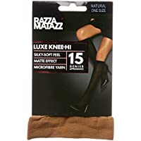 Razzamatazz Women's Pantyhose 15 Denier Luxe Knee Hi's