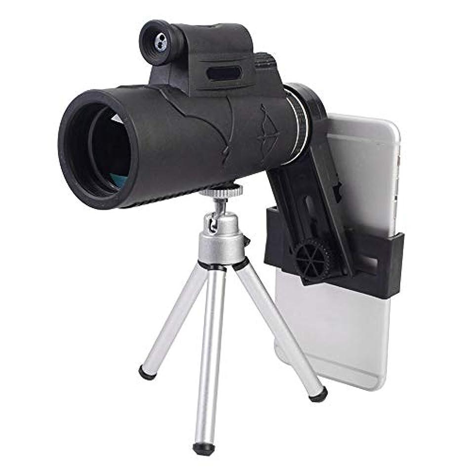 故障く既婚Rosepoem 実用的な単眼望遠鏡の視聴ガラスレーザーの照明黒
