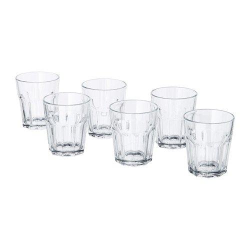 IKEA POKAL グラス 6個セット