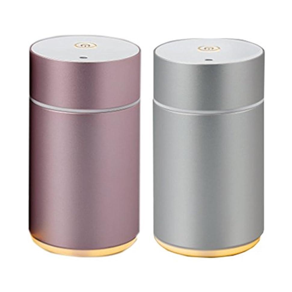 一般的にうま梨アロモア ミニ[aromore mini](アロマディフューザー)2台セット/昼夜アロマオイル付き(各10ml)
