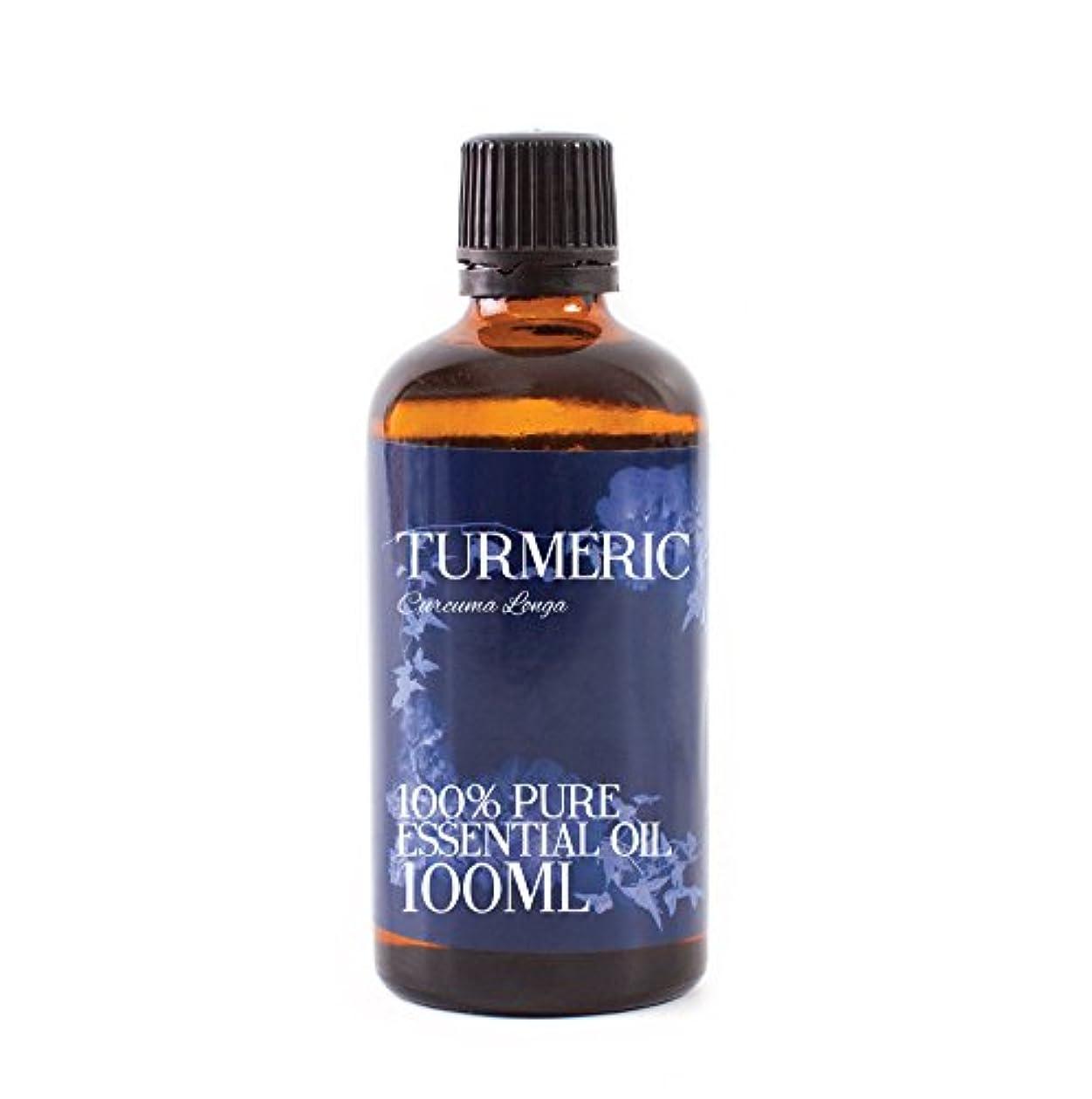 ウェイドなる肌寒いMystic Moments | Turmeric Essential Oil - 100ml - 100% Pure