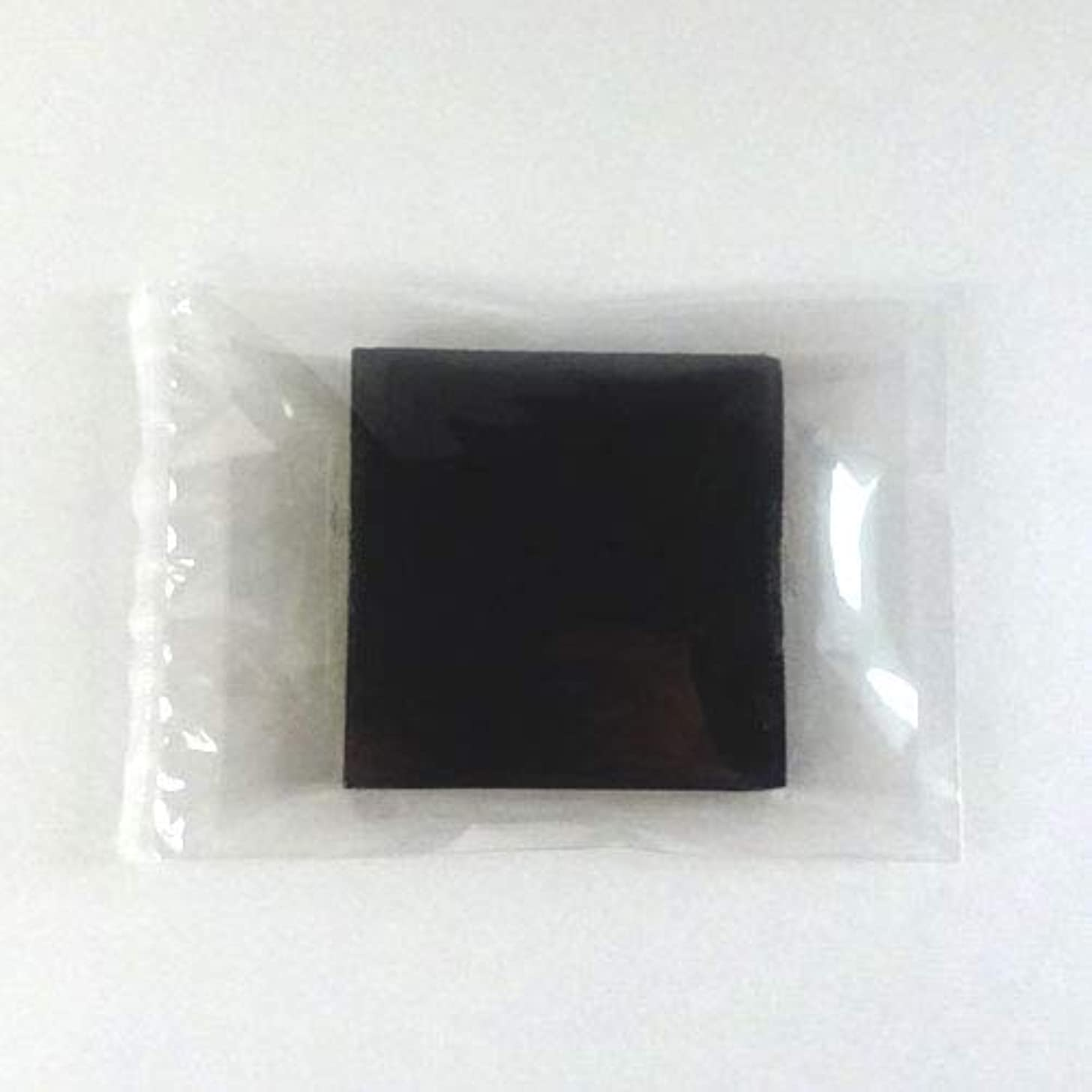 あえぎ結紮ニンニクグリセリンソープ MPソープ 色チップ 黒(ブラック) 120g(30g x 4pc)