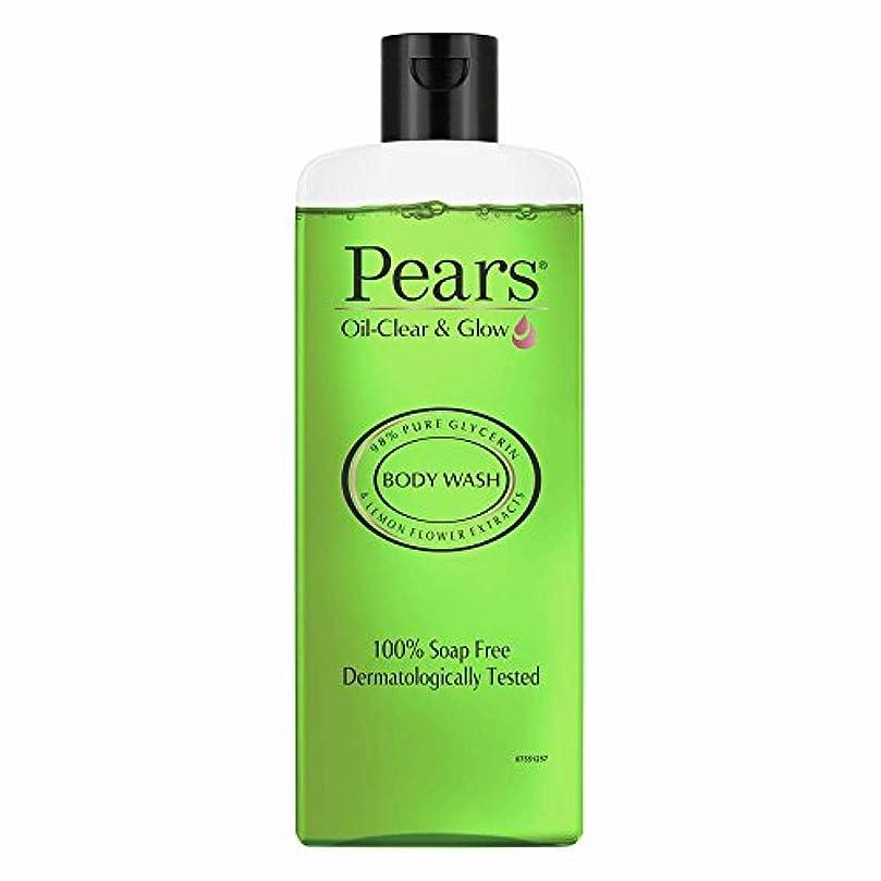 程度回転させる保有者Pears Oil Clear and Glow Shower Gel, 250ml