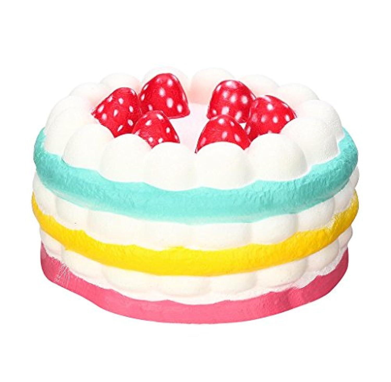 YIKAKIO ★ 2018ストレスを解消するの超かわいいイチゴのケーキ子供玩具ギフト