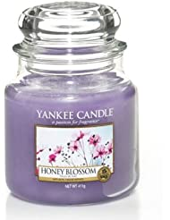 YankeeキャンドルMedium Jar Candle – Honey Blossom