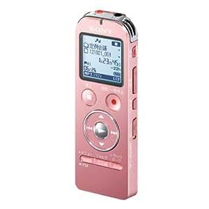 SONY ステレオICレコーダー FMチューナー付 4GB ピンク ICD-UX533F/P