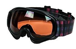 VAXPOT(バックスポット) スキー・スノーボード ジュニア用 【ダブルレンズ くもり止め加工 UVカット】 VA-3612