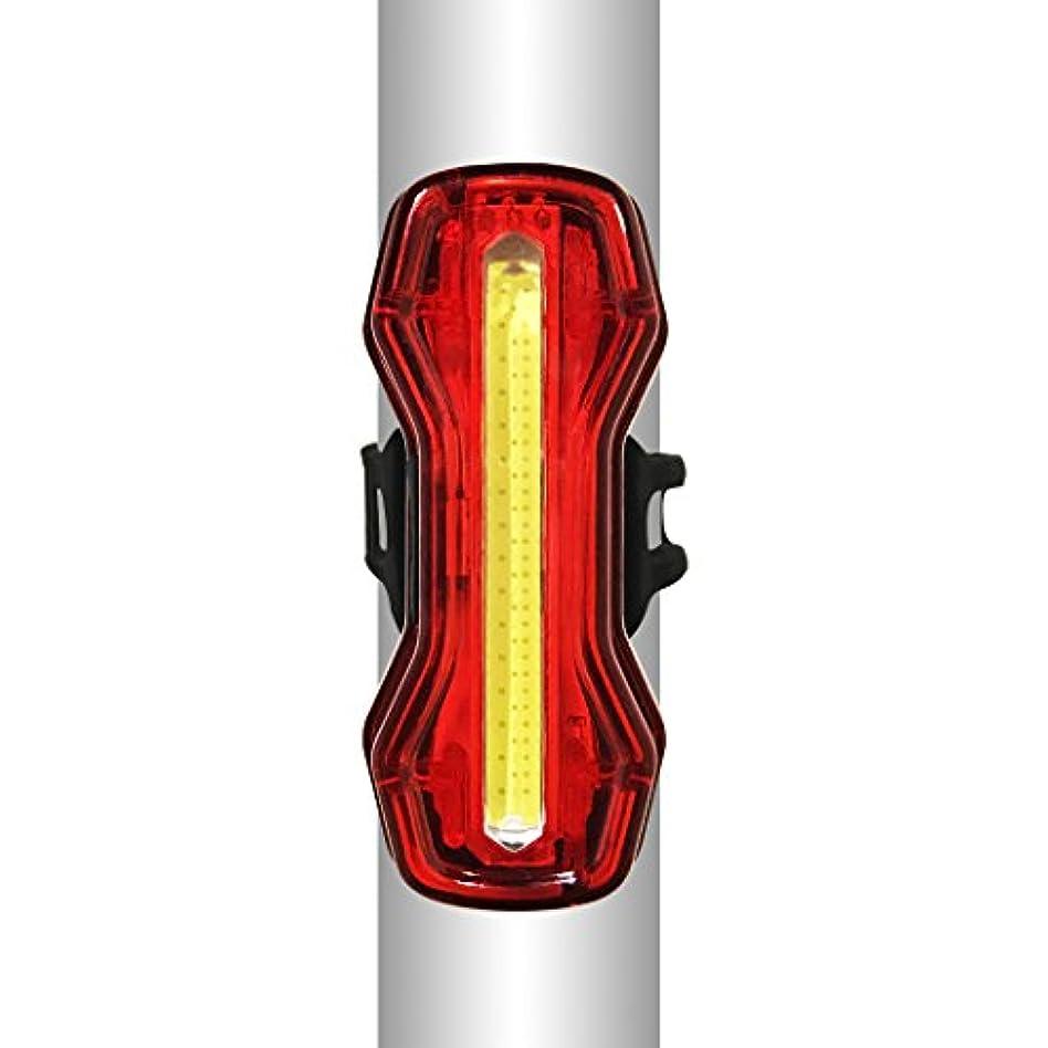 消す多様な溶けたziyueセーフティーライト 自転車 usb充電式 高輝度ledテールライト 防水 4点灯モード 夜間走行の視認性をアピール (6モード)