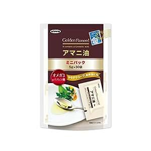 日本製粉 アマニ油 ミニパック 5g 30袋