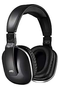 JVC HA-WD100 密閉型ワイヤレスヘッドホン 2.4GHzデジタルワイヤレス方式採用(テレビ向け) ブラック