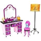 バービー ピンクだいすきベーシック家具シリーズ ピンクだいすき バービーのドレッサー N4896