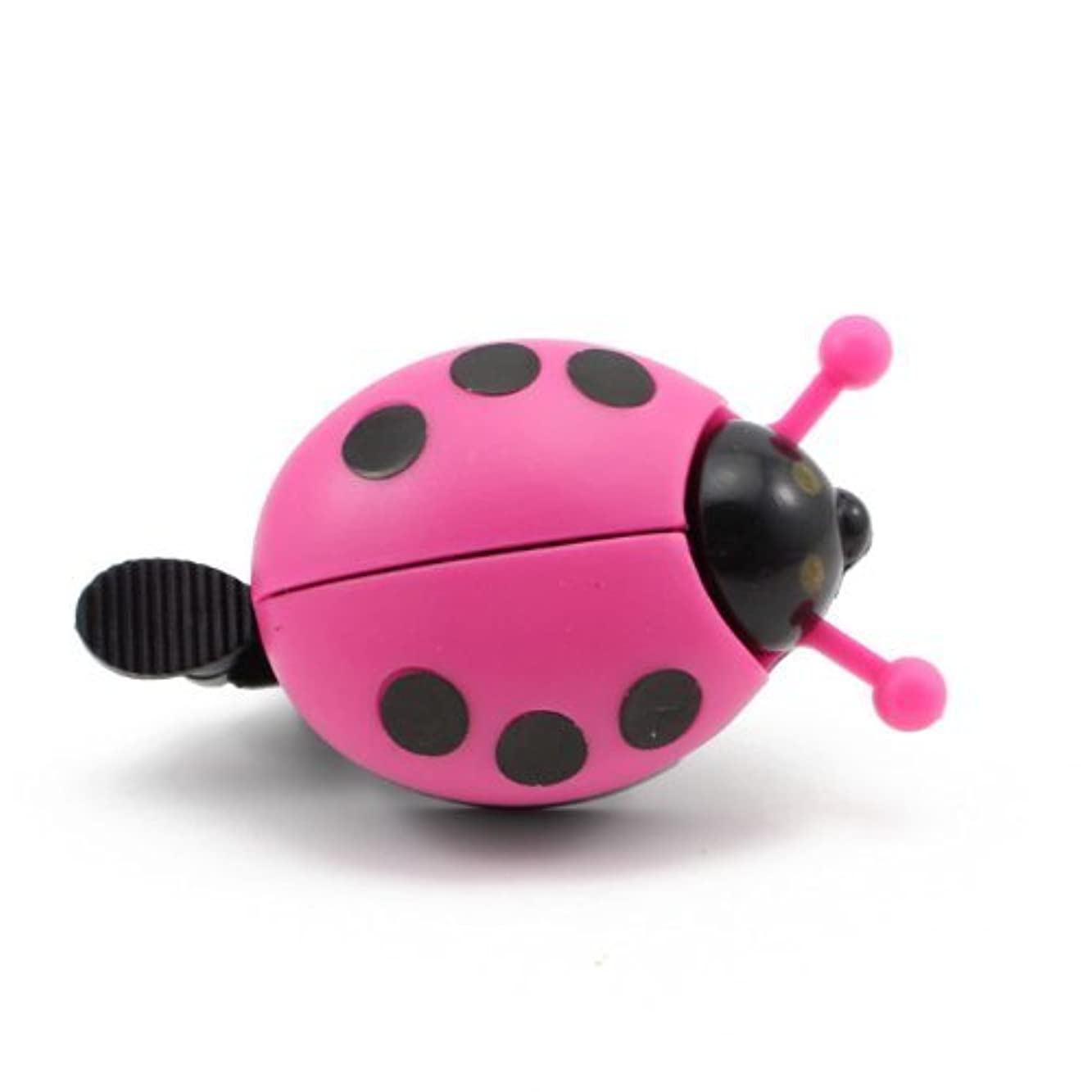 矢乱闘ブレーキGeneric Kid Funny Ladybug Cycling Ride Bike Ring Bell(Hot Pink) by Generic