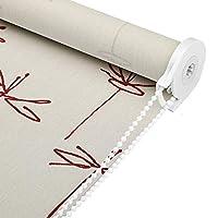 ウィンドウ50%ブラックアウトロールアップブラインドのためにキッチンリビングルームプライバシーカーテン家庭用リフトのカーテン用UVプロテクションローラーシェード (Size : 60x140cm)