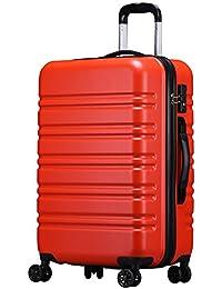 【ラッキーパンダ】luckypanda TY8098 スーツケースキャリーバッグ ファスナータイプ 【1年保証】機内持ち込み 軽量 小型 中型 大型 TSAロック S M L キャリーケース ダブルキャスター 8輪 キズが目立ちにくい素材
