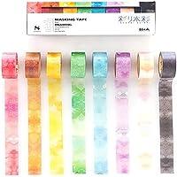 Rink 彩り水彩 マスキングテープ 8色セット IR010038P 4109592