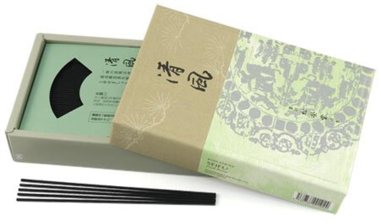 水差し相対的瞑想的Fresh Breeze (sei-fu) – Shoyeido Premium Daily Incense – 450スティックボックス