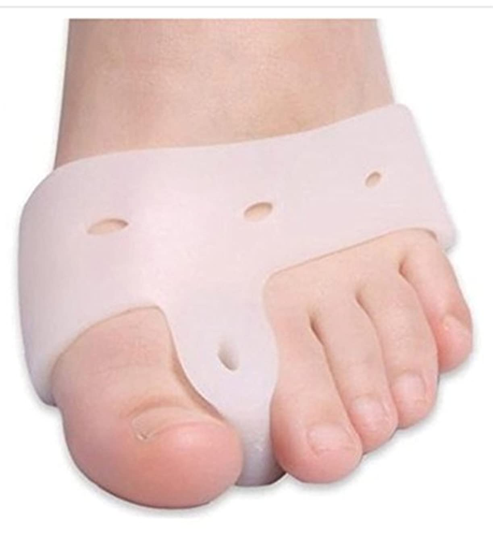 セージキャリッジ巨大World Star® Original Deluxe Bunion Pad & Toe Spacer - 2 Pieces - Soft Gel Toe Separators for Active People - Pain...