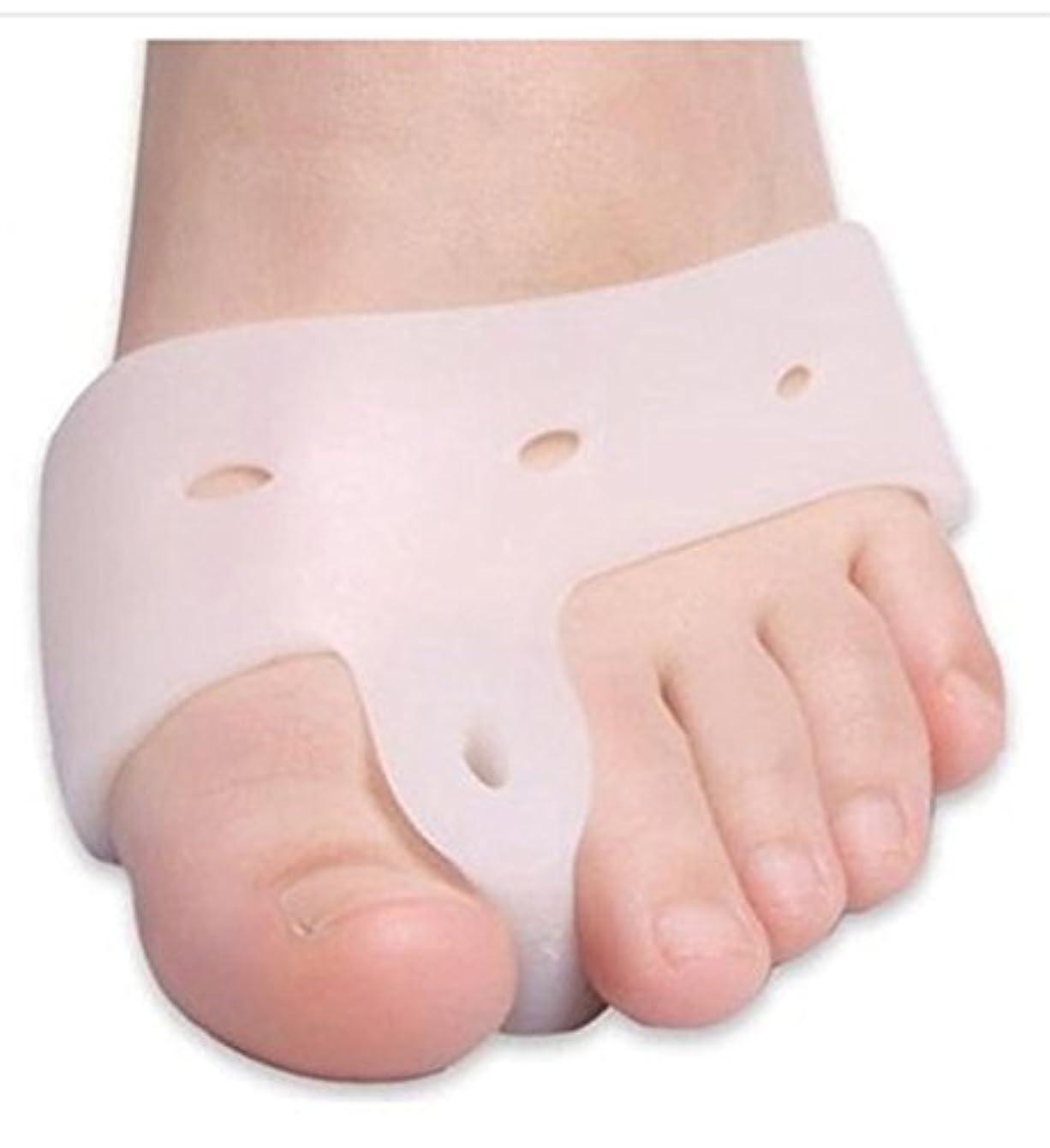 看板応答マンモスWorld Star® Original Deluxe Bunion Pad & Toe Spacer - 2 Pieces - Soft Gel Toe Separators for Active People - Pain...