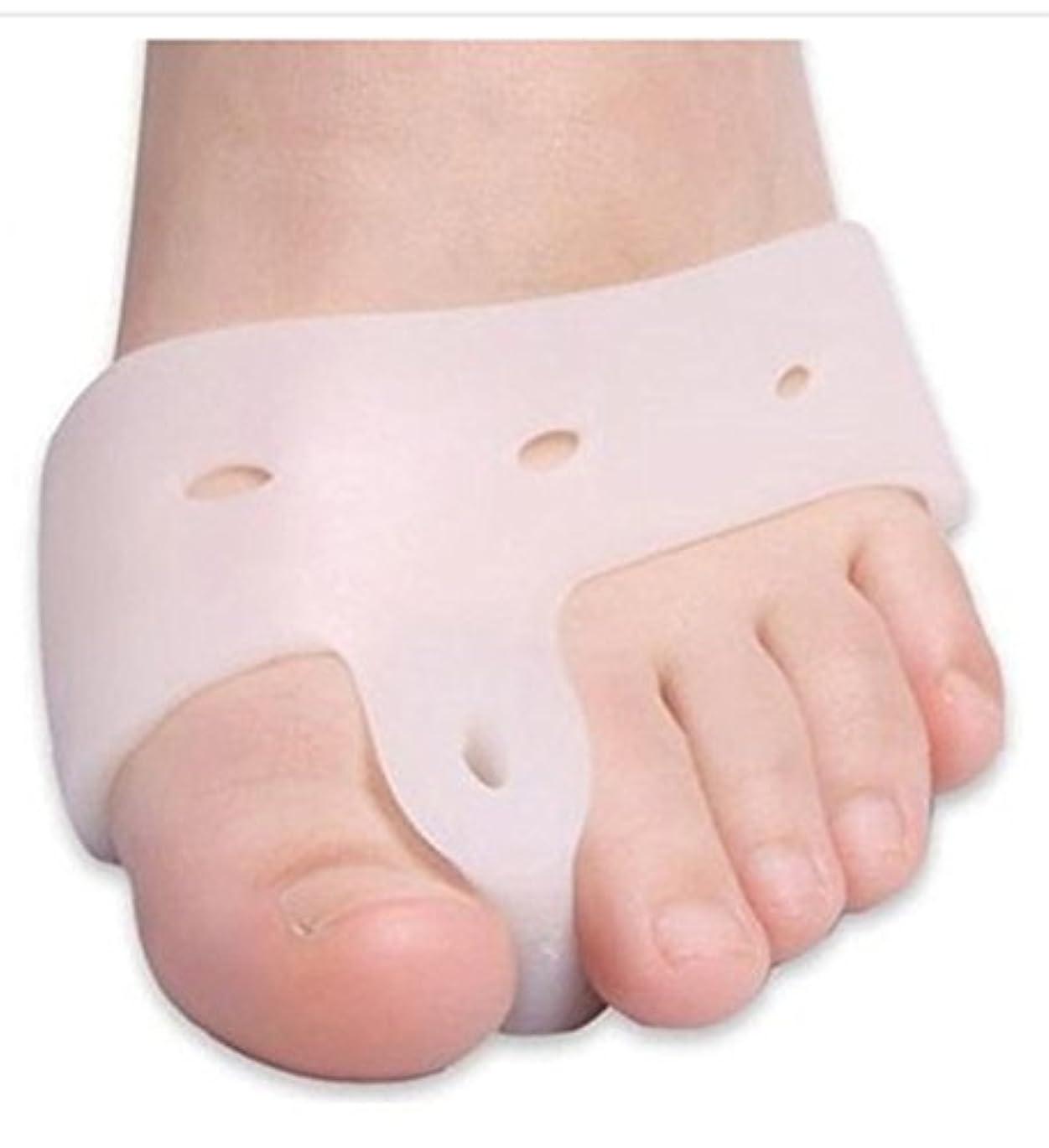 平等近似イースターWorld Star® Original Deluxe Bunion Pad & Toe Spacer - 2 Pieces - Soft Gel Toe Separators for Active People - Pain...