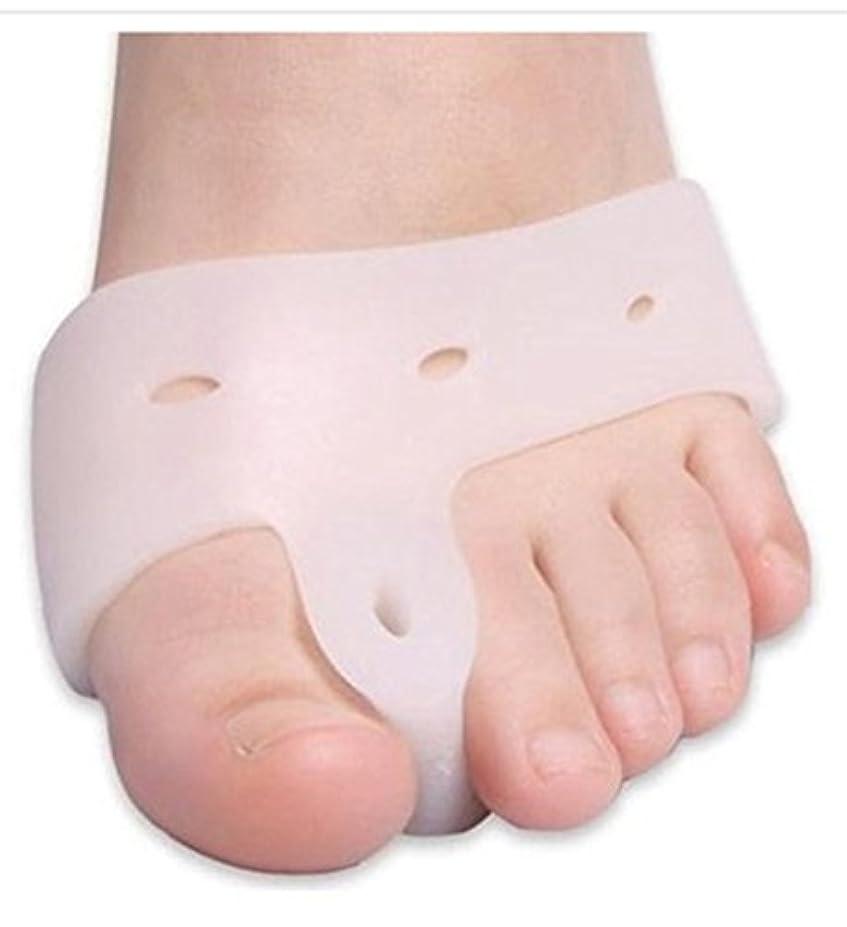 ホイスト究極の大洪水World Star® Original Deluxe Bunion Pad & Toe Spacer - 2 Pieces - Soft Gel Toe Separators for Active People - Pain...