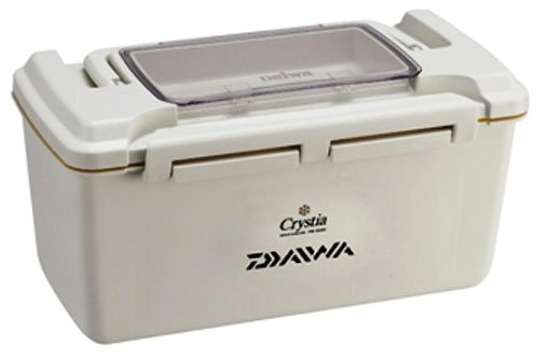 かわす雑種冗長ダイワ(DAIWA) クリスティア ワカサギ タックルボックス 防水 PB3000 ホワイト 864893