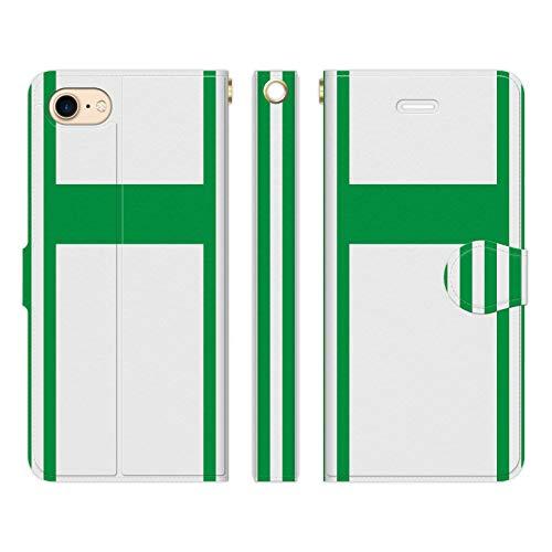 LG style2 L-01L 手帳型 ケース カバー 勝負服 47 白 緑 ブレインズ 競馬