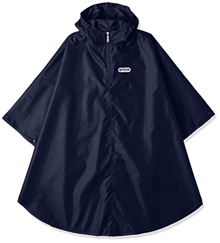 (アウトドアプロダクツ) OUTDOOR PRODUCTS子供 キッズポンチョ レインコート 男の子 女の子 はっ水 撥水 収納袋付 全3色 3サイズ
