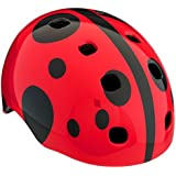 Schwinn Burst Toddler Ladybug Helmet Red