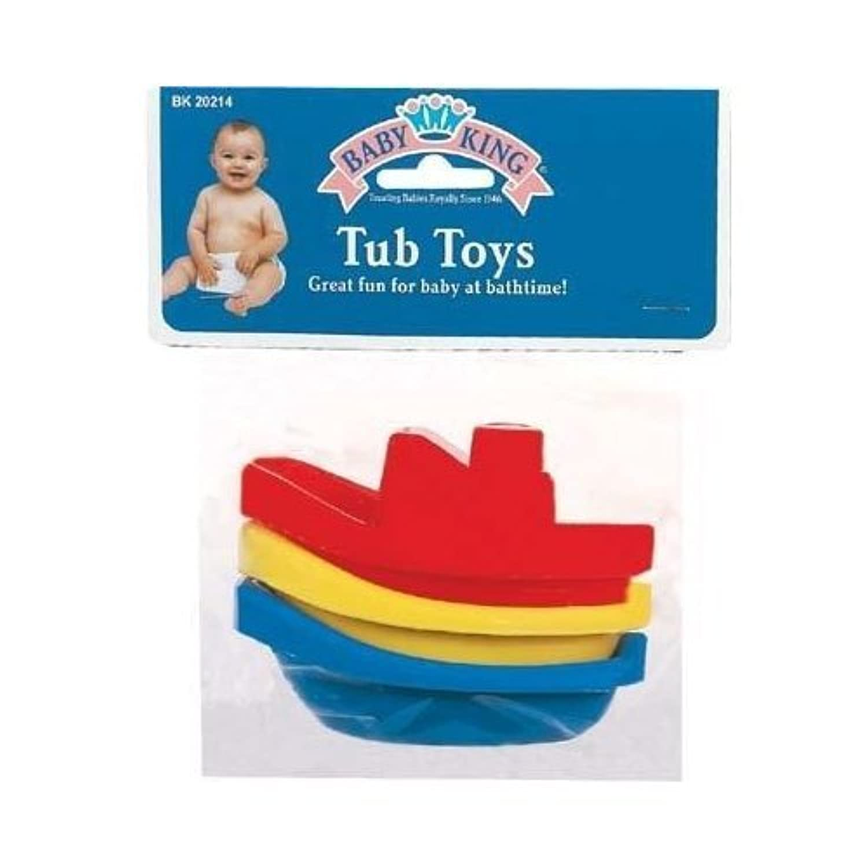 Bulk Buys Tub Toys 3Pk - Pack of 6おもちゃ [並行輸入品]