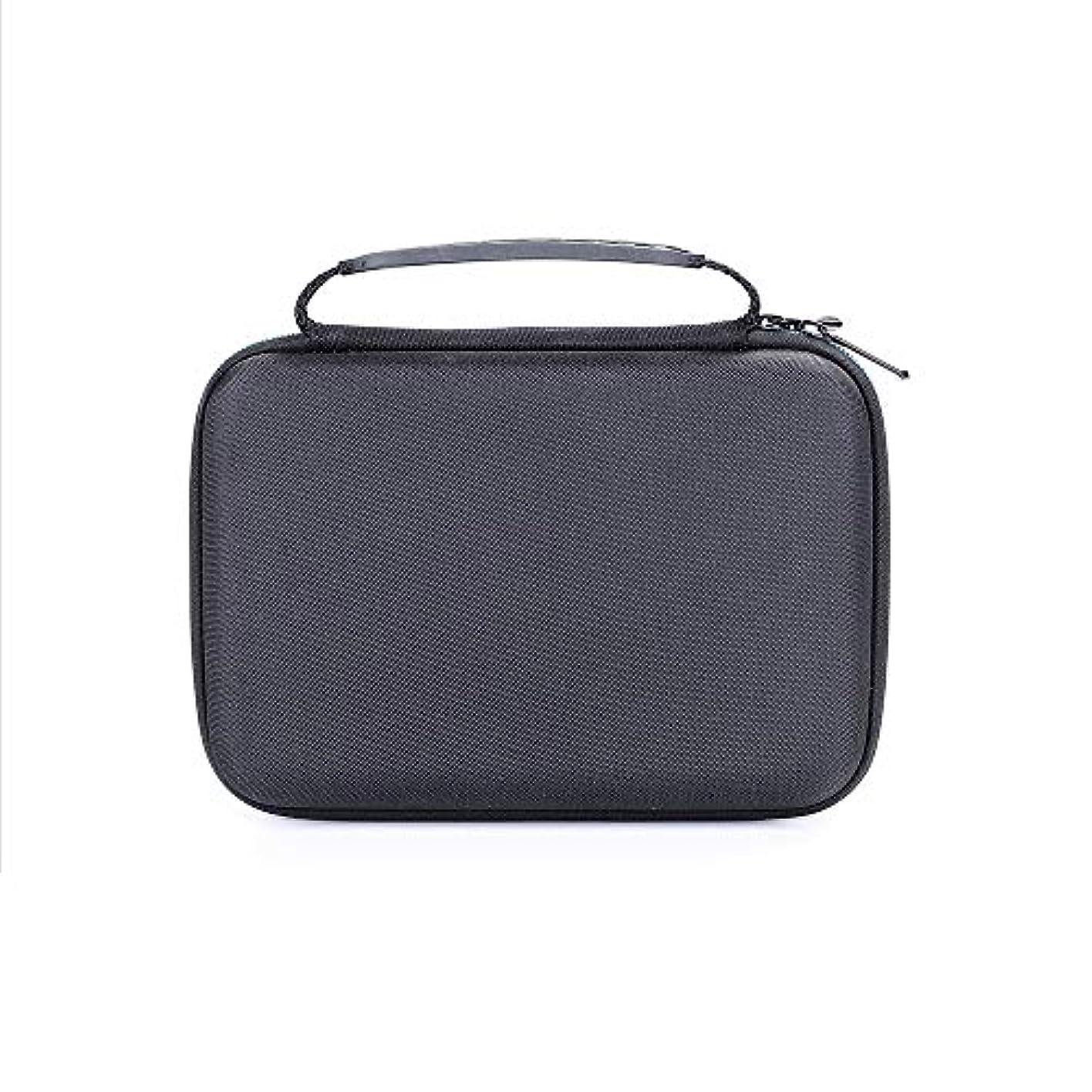 操作可能可動式手段Moligh doll ポータブルの旅行用Evaハード携帯用ケース、保護ボックス、バッグ、 Norelco Multi Groom シリーズ 3000 Mg3750用