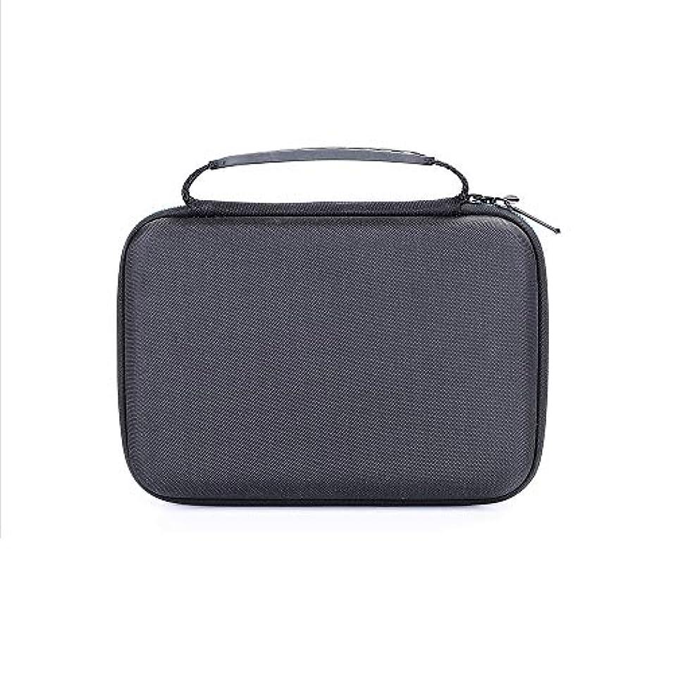 障害旅行結婚するNrpfell ポータブルの旅行用Evaハード携帯用ケース、保護ボックス、バッグ、 Norelco Multi Groom シリーズ 3000 Mg3750用