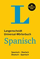 Langenscheidt Universal-Woerterbuch Spanisch - mit Bildwoerterbuch: Spanisch-Deutsch/Deutsch-Spanisch