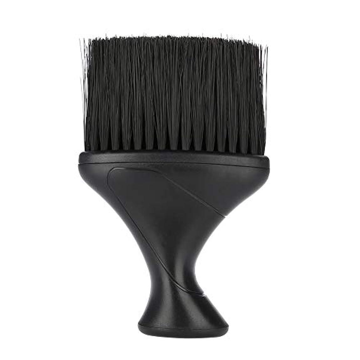 休暇マニュアルイデオロギーヘアブラシソフトヘアブラシネックダスター理髪ヘアカットスタイリングクリーニングブラシ