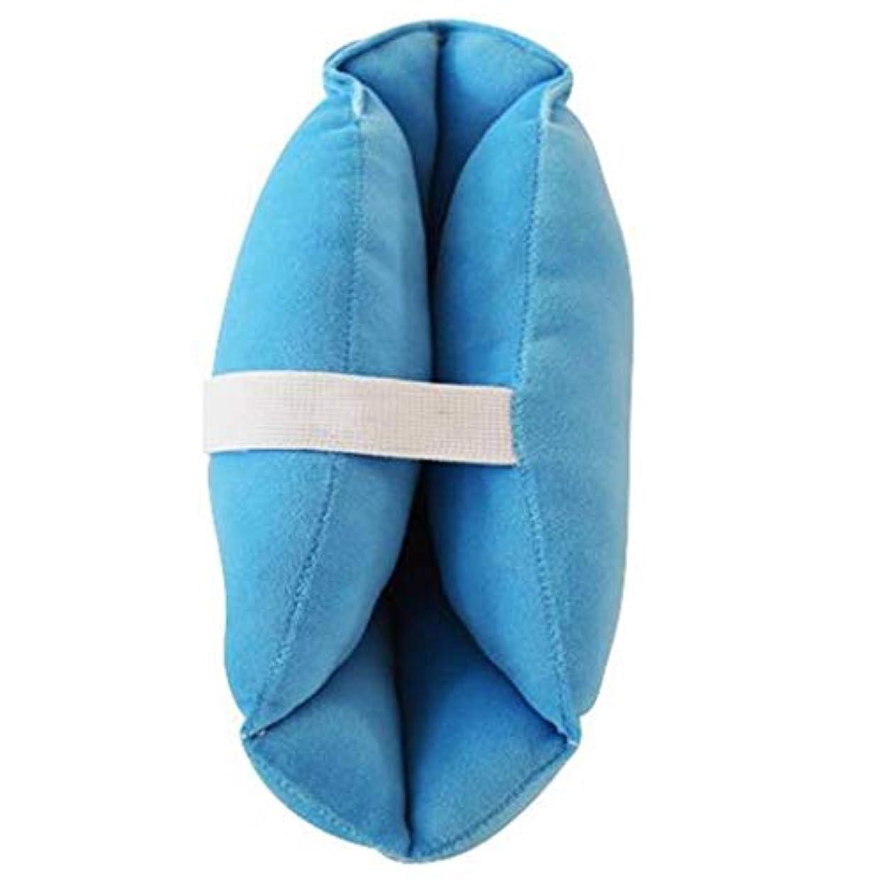受益者ワイプ注釈ソフトで快適なヒールプロテクター枕、ヒールフローティングヒールプロテクター、,瘡のためのアキレス腱プロテクター、高齢者の足矯正カバー (Color : 1pair)
