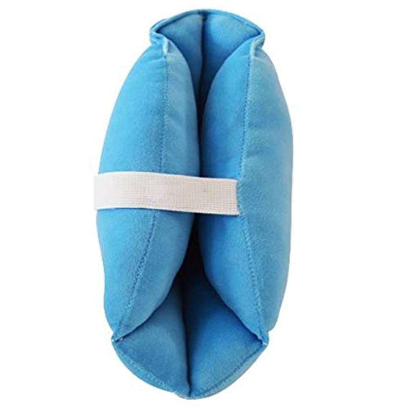 耕す市の中心部性別ソフトで快適なヒールプロテクター枕、ヒールフローティングヒールプロテクター、,瘡のためのアキレス腱プロテクター、高齢者の足矯正カバー (Color : 1pair)