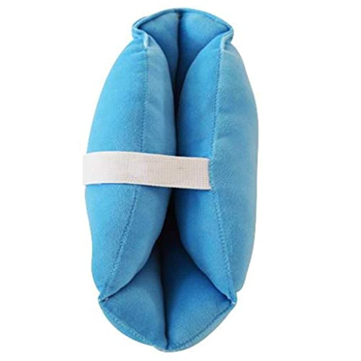 集団的求める修正するソフトで快適なヒールプロテクター枕、ヒールフローティングヒールプロテクター、,瘡のためのアキレス腱プロテクター、高齢者の足矯正カバー (Color : 1pair)