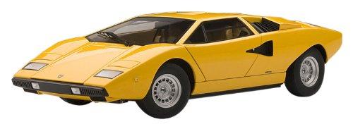 Autoart 1   18 Lamborghini Countach lp400 lp400 lp400 amarillo acabado en Japón 6a0695 51f